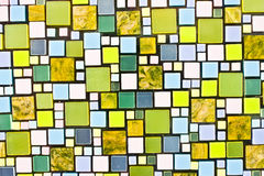 Abstract mosaic background. Abstract mosaic green tone background Royalty Free Stock Photos