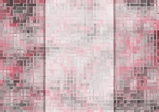 Abstract mosaic background Royalty Free Stock Photography