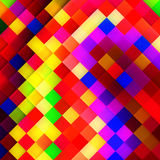 Abstract mosaic background. Stock Photo