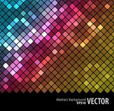 Abstract mosaic background_3. Vector bright background for a banner Stock Photography