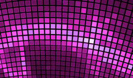 Abstract mosaic background. Bright violet disco fractal Stock Photo