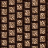 Abstract mosaic background. Abstract mosaic brown background and pattern with various geometries and arabesques. Abstarct geometrical pattern Royalty Free Stock Image