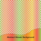 Abstract mosaic background. Royalty Free Stock Image