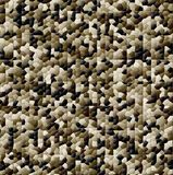 Abstract mosaic background-dark brown Stock Photos