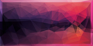 vector abstract mosaic background Royalty Free Stock Photography