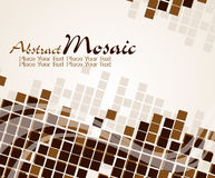 Abstract mosaic background,  illustration. Stock Image