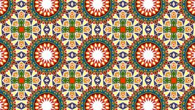 Ethnic forms of the mandala. Islam, Arabic, Indian motifs. Abstract background Royalty Free Stock Photography