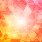 Abstract mosaic background with light Royalty Free Stock Photography