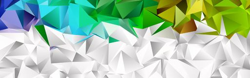 Mosaic abstract background Stock Photo