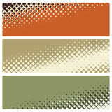 Abstract mosaic banners Royalty Free Stock Image