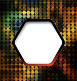Abstract mosaic colorful geometric background Royalty Free Stock Photo