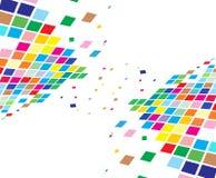 Abstract mosaic composition Stock Photos