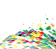 Abstract mosaic composition. For more background of this type please visit my gallery royalty free illustration