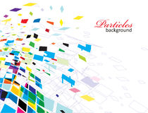 Abstract mosaic composition. For more background of this type please visit my gallery vector illustration