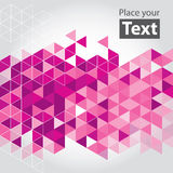 Abstract mosaic cubic geometric background Royalty Free Stock Images