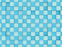 Abstract mosaic 3d background Stock Photo