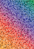 Abstract  Mosaic Design Royalty Free Stock Photography
