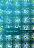Abstract mosaic foliage. Abstract mosaic cover page, vector illustration Stock Photo