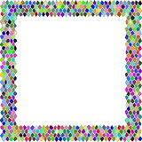 Abstract mosaic frame Royalty Free Stock Image