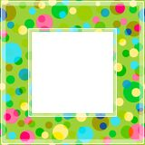 Photo frame-12. Abstract mosaic frames set isolated on white background. Templates for photo or images Stock Photography