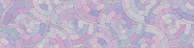 Abstract mosaic geometrics- room intricate interior. Art mosaic- stones and marble. Home decor: floor, abstract geometric background. Wall intricate pattern Royalty Free Stock Photography