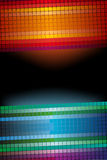Abstract mosaic glowing background Stock Images