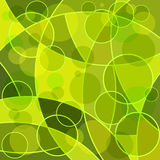 Abstract mosaic green background Stock Photos