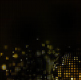 Abstract mosaic light background. Abstract black background wiht color spotlight Royalty Free Stock Images