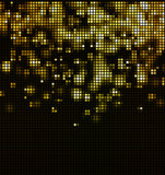 Abstract mosaic light background. Abstract black background wiht color spotlight Stock Photo
