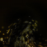 Abstract mosaic light background. Abstract black background wiht color spotlight Royalty Free Stock Photography
