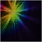 Abstract mosaic light background. Abstract background wiht color spotlight Stock Photo
