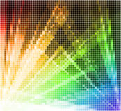 Abstract mosaic light background. Abstract background wiht color spotlight Stock Images