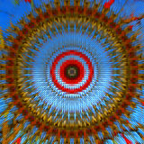 Abstract mosaic mandala Stock Photography