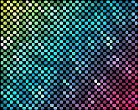 Abstract mosaic neon background_3. Vector background from a banner or for the realization of your other design ideas Stock Photography