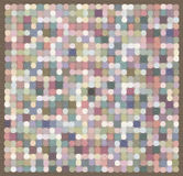 Abstract mosaic in pastel colors Royalty Free Stock Photos