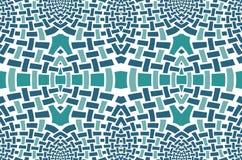 Abstract mosaic pattern green gray white Royalty Free Stock Photo