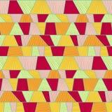 Abstract mosaic pattern. Seamless vector. Stock Photos