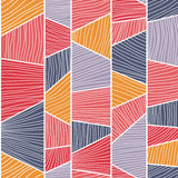 Abstract mosaic pattern. Seamless vector. Royalty Free Stock Images