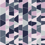 Abstract mosaic pattern. Seamless vector. Stock Images