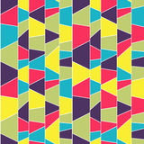 Abstract mosaic pattern. Seamless vector. Stock Photography