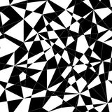 Abstract mosaic pattern with triangles. Seamless vector. Royalty Free Stock Images
