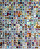 Abstract mosaic pearl surface Royalty Free Stock Images