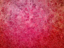 Abstract mosaic pink background Royalty Free Stock Images