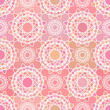 Abstract mosaic spirograph pattern Royalty Free Stock Photo