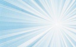 Abstract mosaic sun rays background Stock Photo
