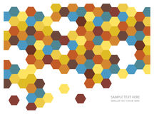 Abstract mosaic tiles background. Colorful abstract wallpaper with mosaic tiles Royalty Free Illustration