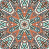 Abstract mosaic tiles seamless pattern ornamental Royalty Free Stock Image