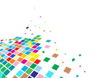 Abstract mosaic vector Royalty Free Stock Image