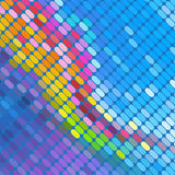 Abstract mosaic vector background Stock Images