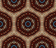 Abstract mosaic  vintage ethnic seamless pattern. Abstract Tribal vintage ethnic seamless pattern ornamental. Festive colorful background design Royalty Free Stock Images